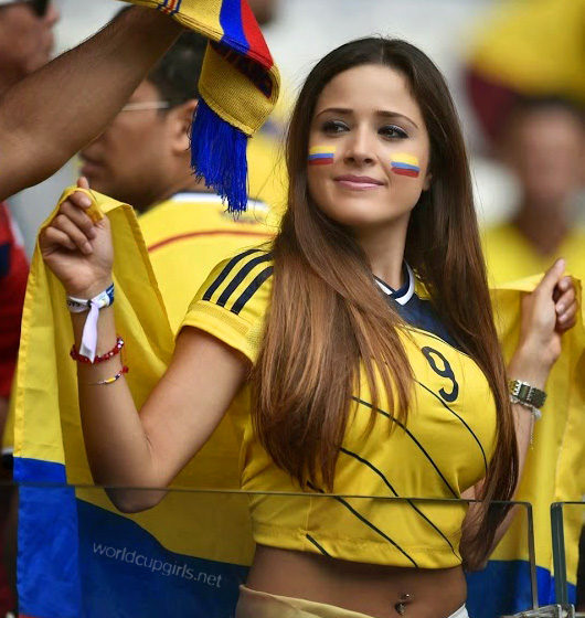 Hot colombian girl