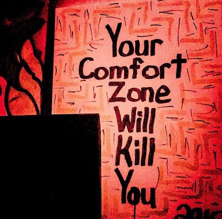 your comfort zone will kill you troy francis